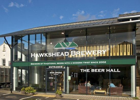 Beer Hall at Hawkshead Brewery