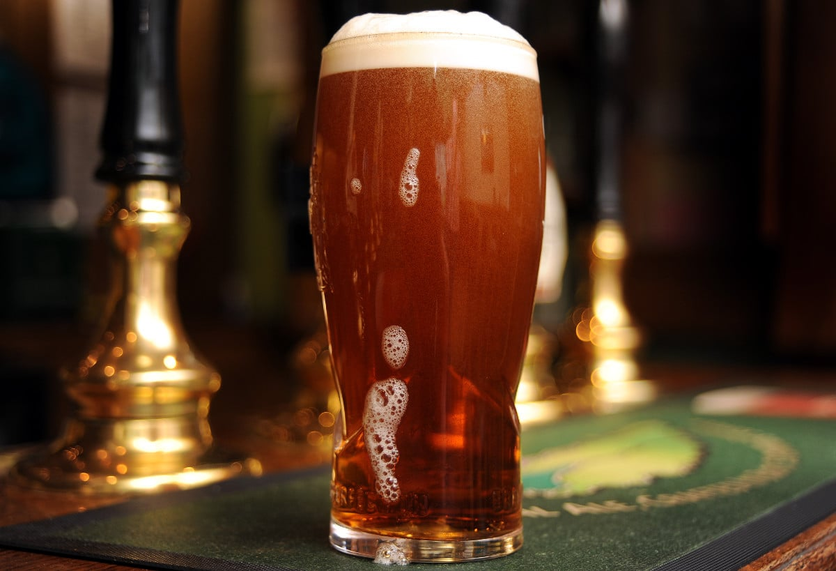 Marstons Old Empire has been voted the No.1 beer by user of CaskFinder app