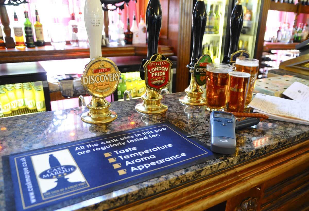 Why is beer quality so important to cask ale?