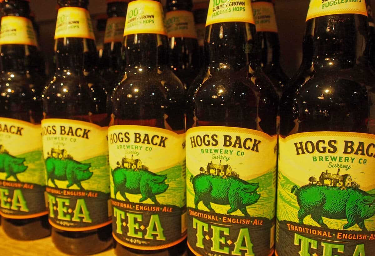 New look for Hogs Back's TEA