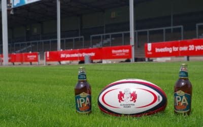 Greene King partners with Gloucester Rugby