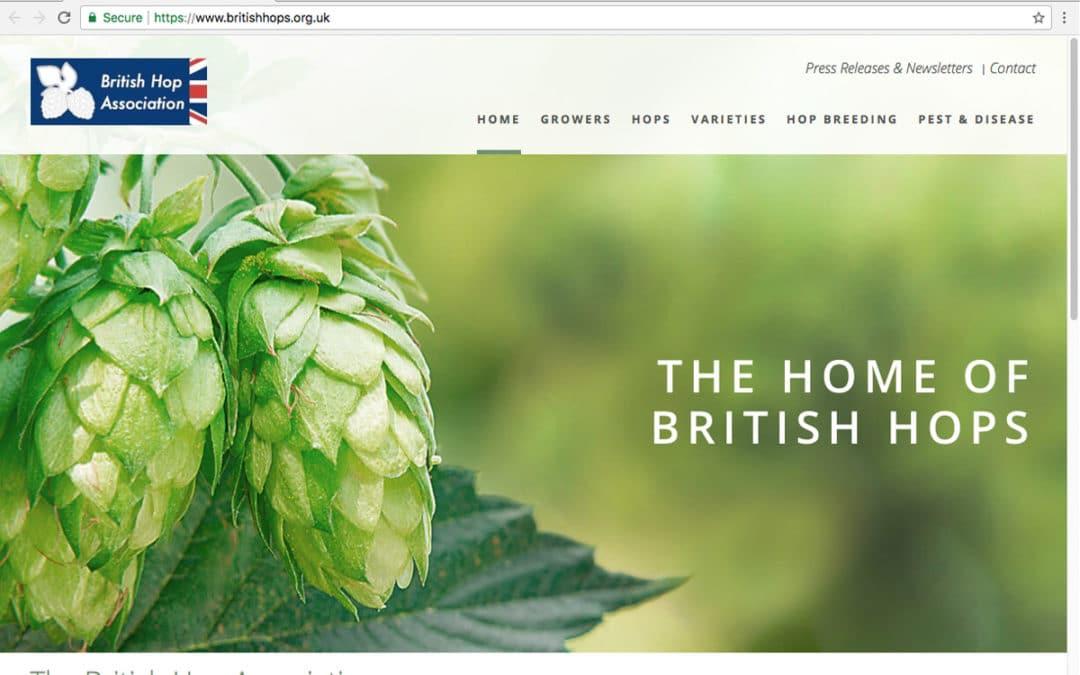 British Hop Association Relaunches Website