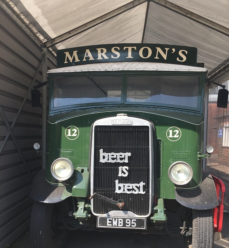 Marston's Brewery Delivery Truck