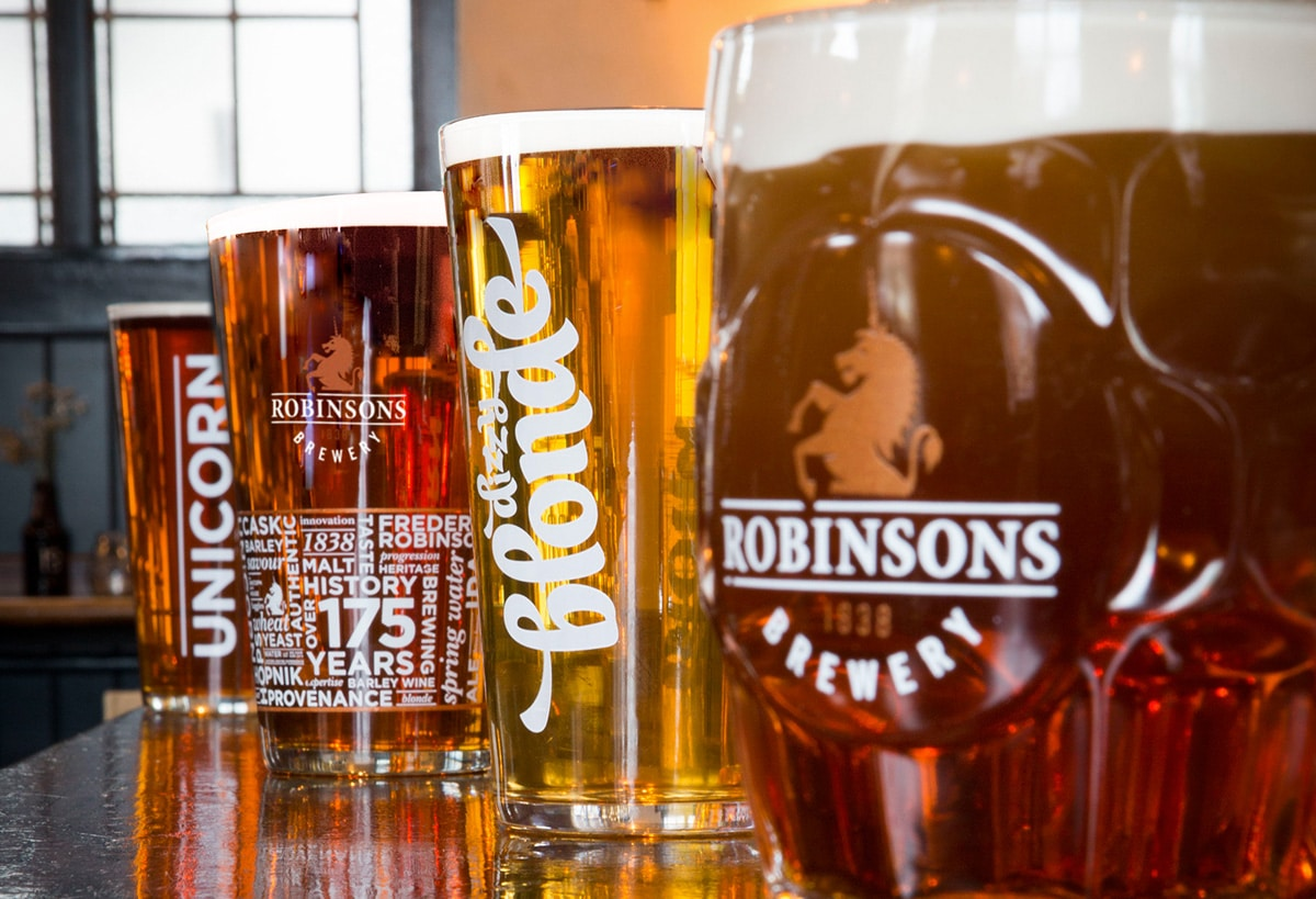Robinsons Launch 'Best In Glass' Scheme in Relentless Quest For Beer Quality