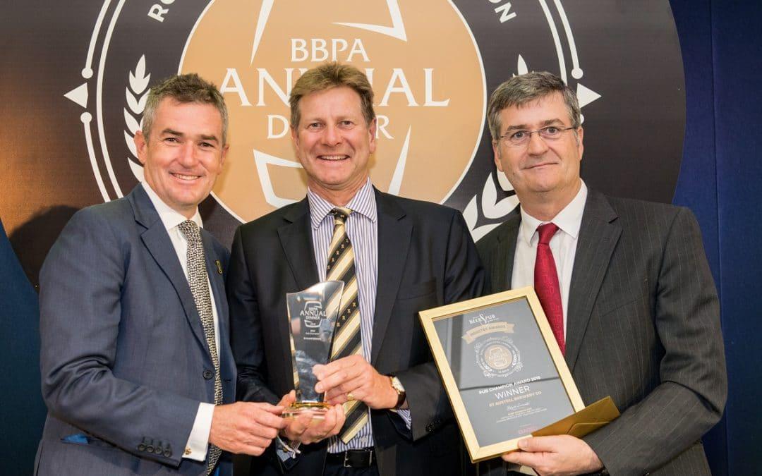 BBPA Annual Dinner Award Winners Announced