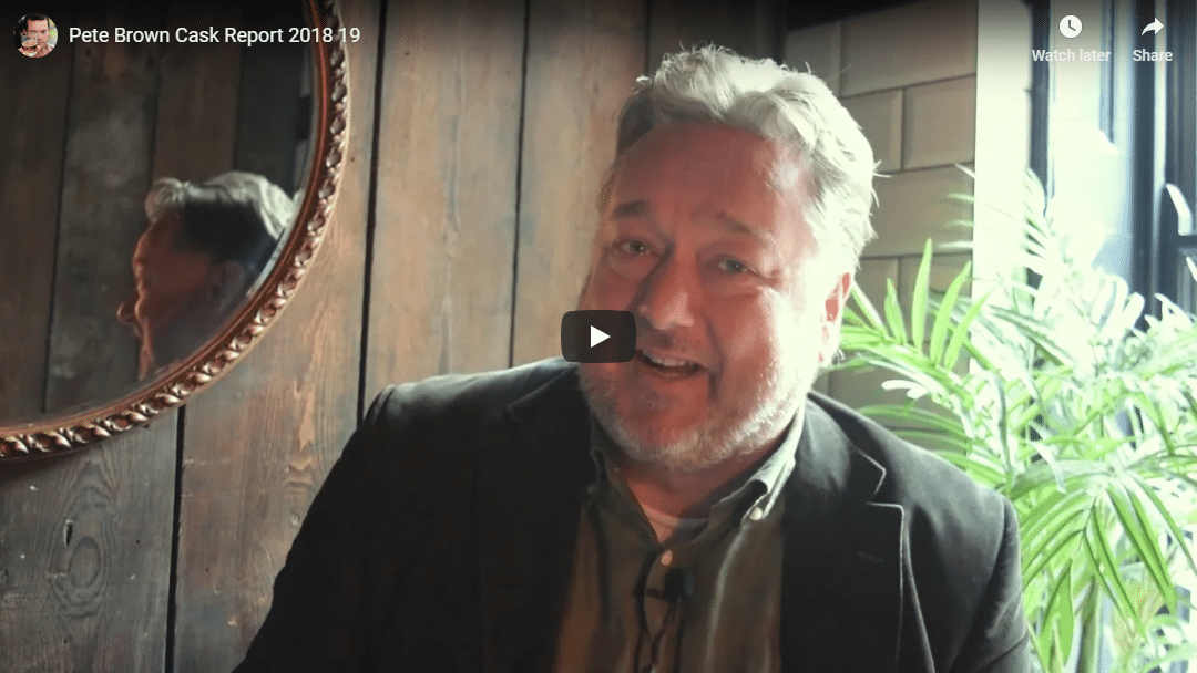 Pete Brown talks about Cask Report research
