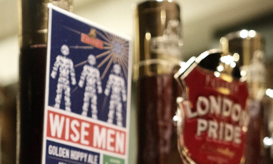 Fuller's Three Wise Men on sale to raise funds for prostate cancer awareness
