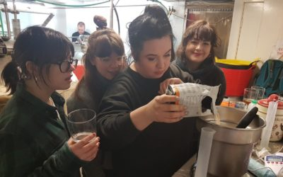 Women's Day Beer brewed by Nomadic