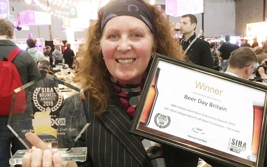 Beer Day Britain wins award from SIBA