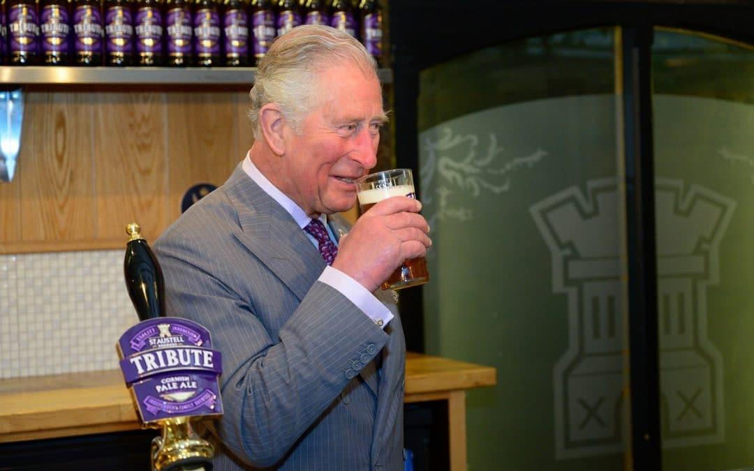 Royal visit to St At Austell