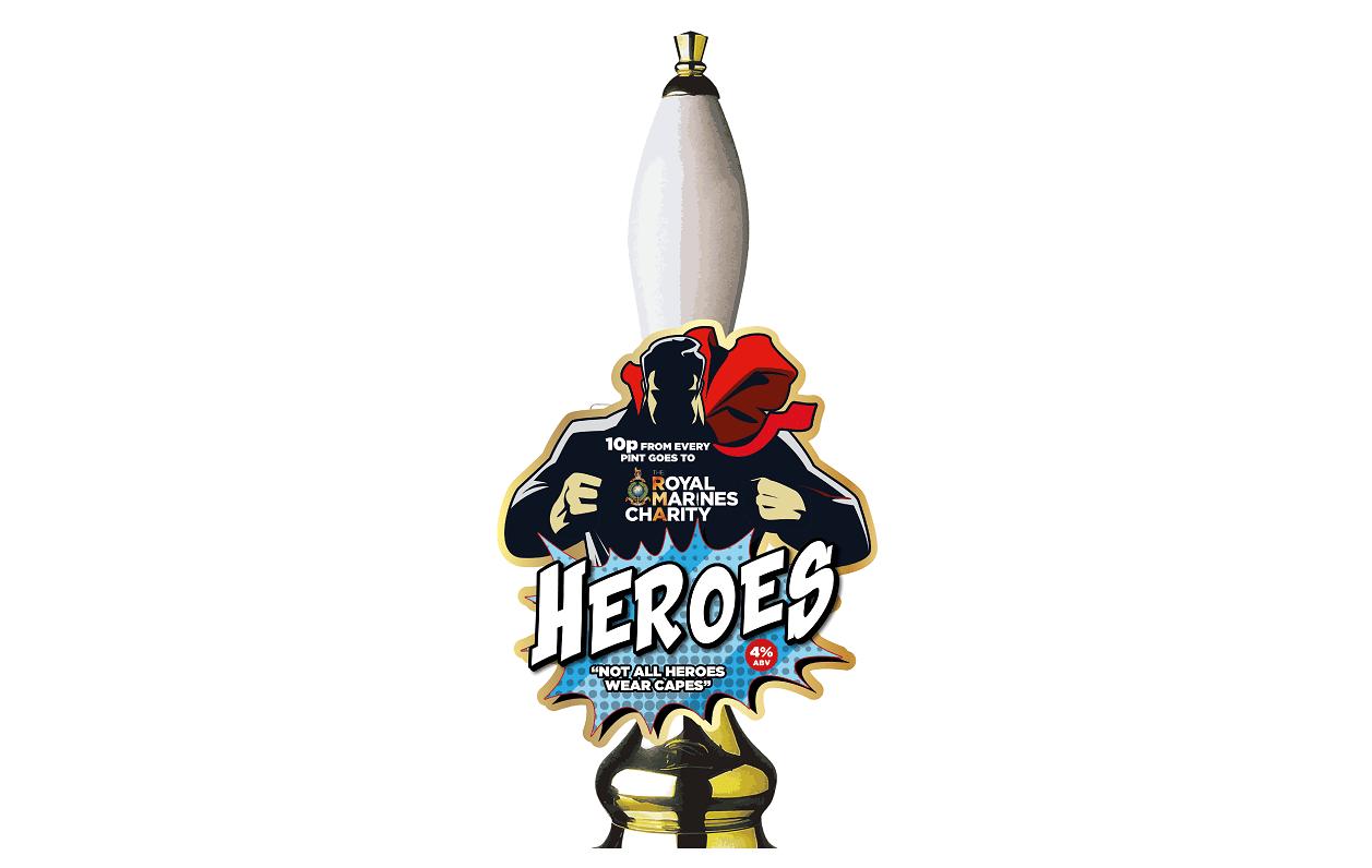Beer brewed for Heroes