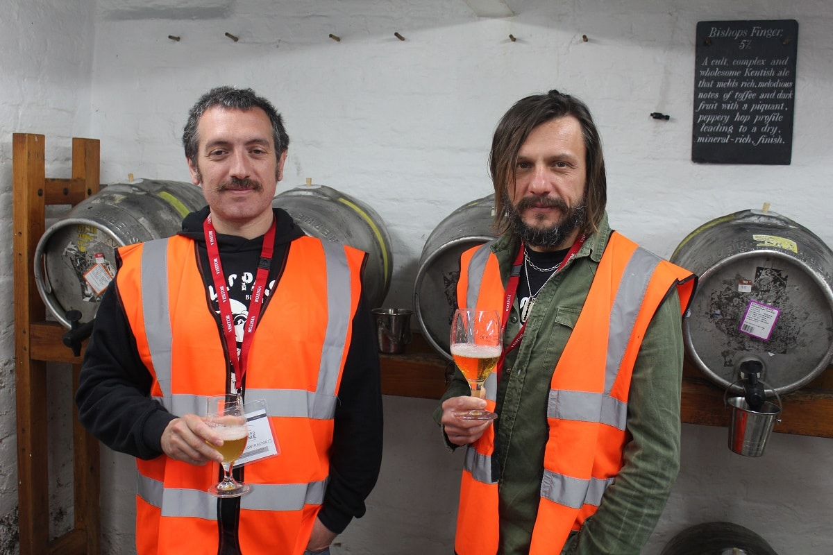 Shepherd Neame collaborates with Italian Brewers