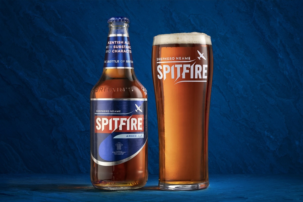 Spitfire given a new look by Shepherd Neame