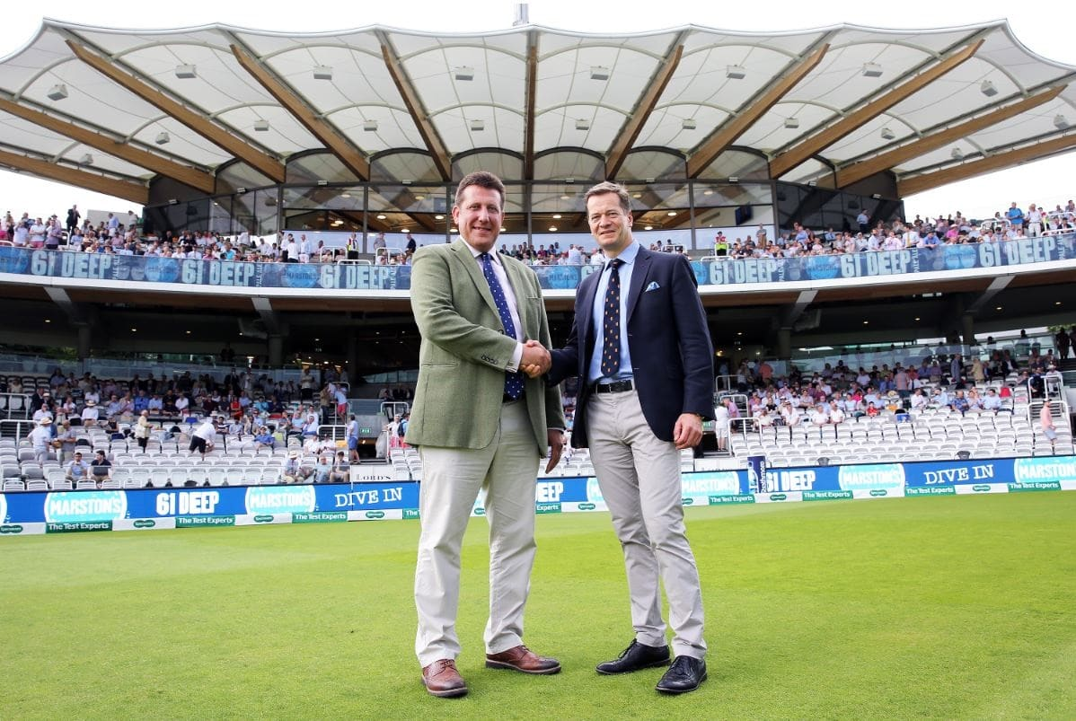 Marston's signs new sponsorship & supply deal with MCC as the Official Beer of Lord's