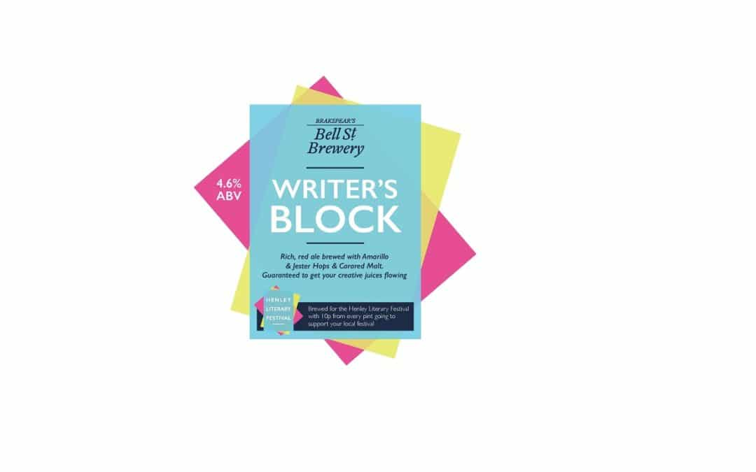 Brakspear supports Literary Festival with Writer's Block