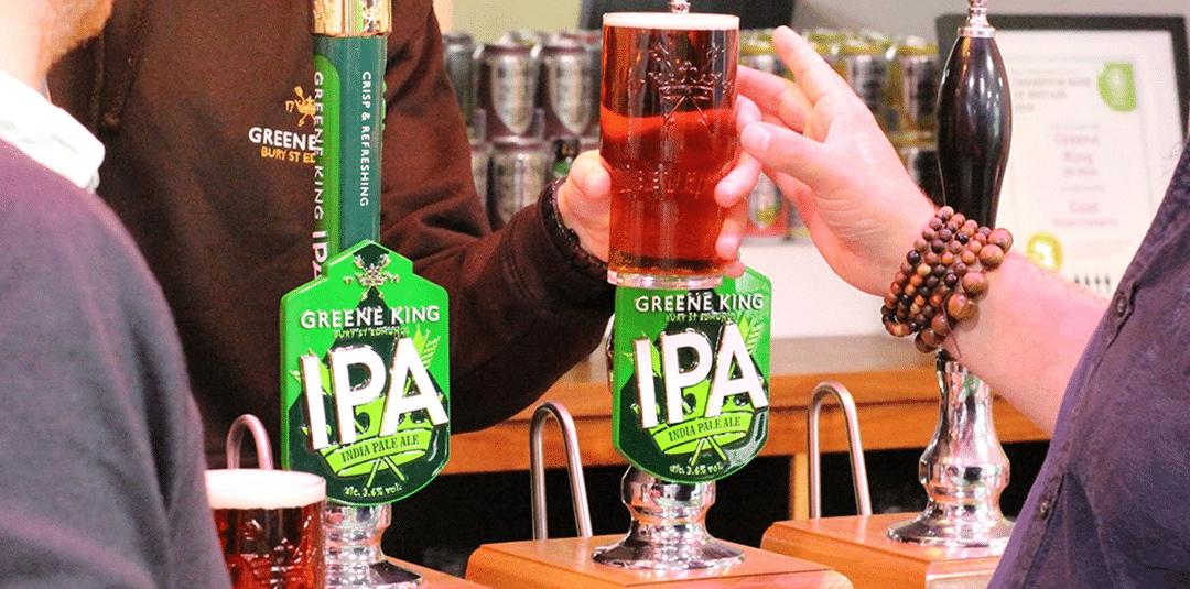 Reboot for Greene King IPA