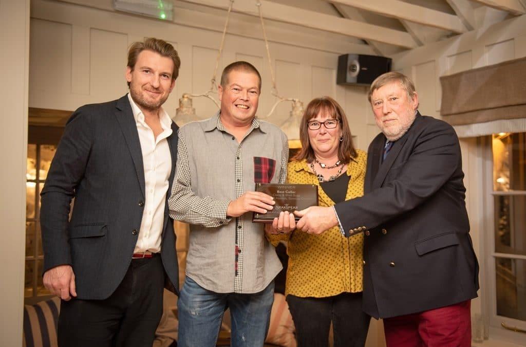 Brakspear rewards local pubs at annual Hospitality Awards