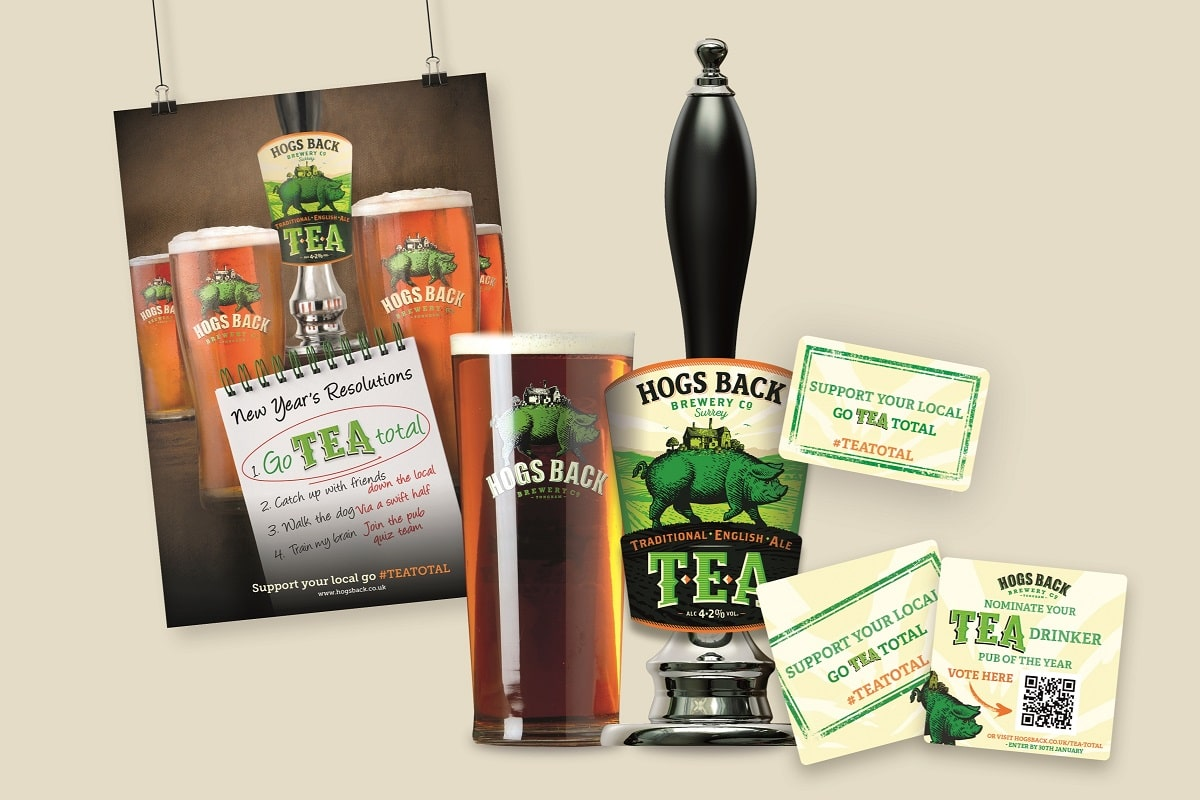 Hogs Back to go TEA Total in January