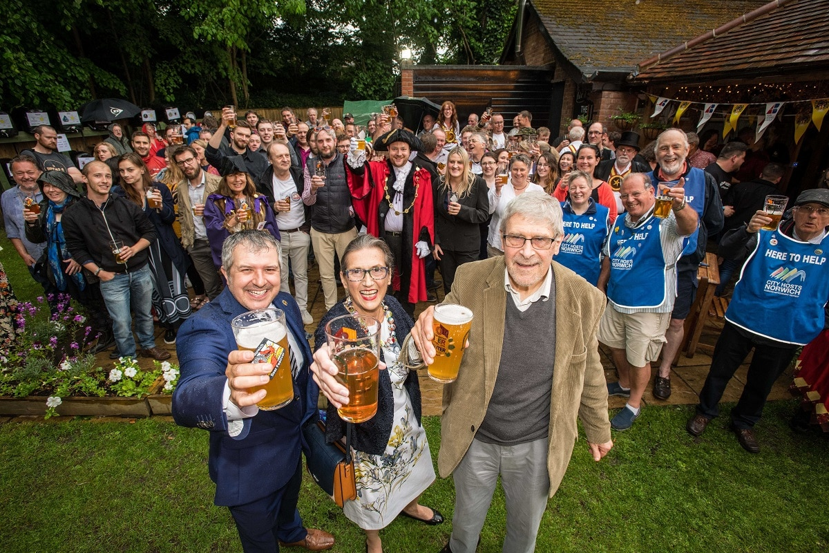 Change of leadership at Norwich City of Ale