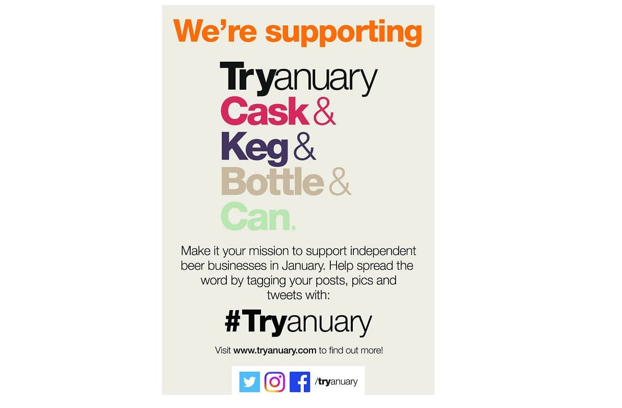 CAMRA supports Tryanuary
