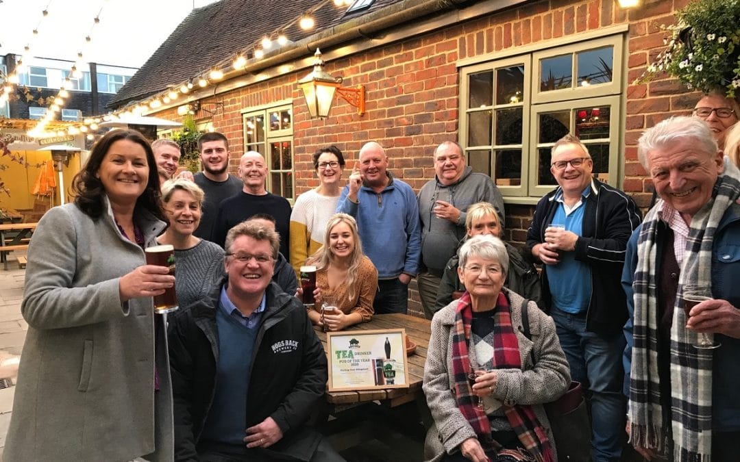 Hogs Back Brewery hails success of 'Go TEA Total' campaign
