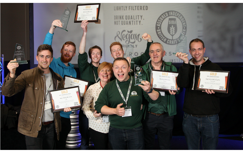 Quantock, Wye Valley, and Eight Arch Brewing earn 'Best beer in the UK' awards