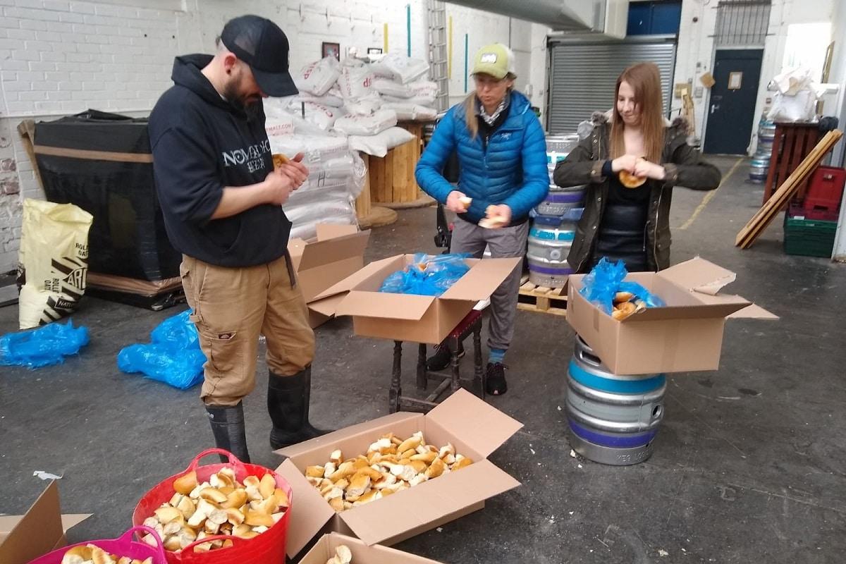 Nomadic Beers & Bagel Nash Brew Surplus Bagel Beer