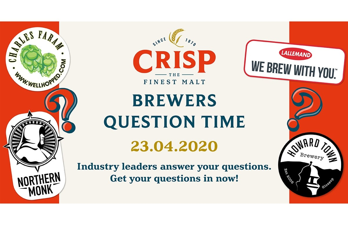 Join Brewers' Question Time on Thursday