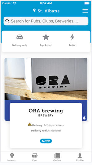 Brew2You – helping you buy local brews!
