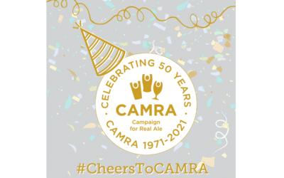 CAMRA celebrates its 50th birthday