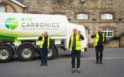 St Austell Brewery secures 100% renewable CO₂supply