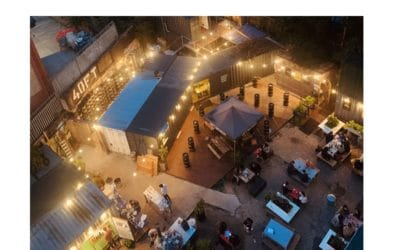 Are independent brewery 'tap yards' the new 'beer garden'?