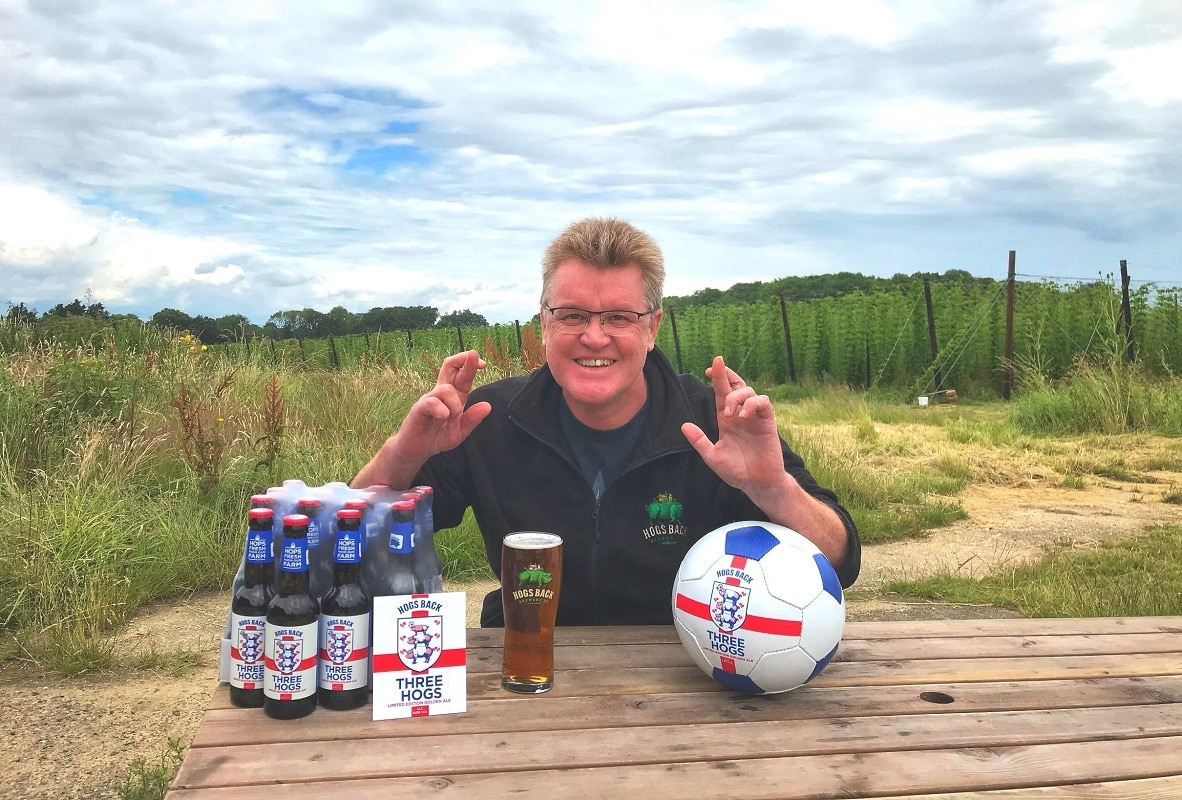 Hogs Back Brewery 'delighted' to honour free pint pledge